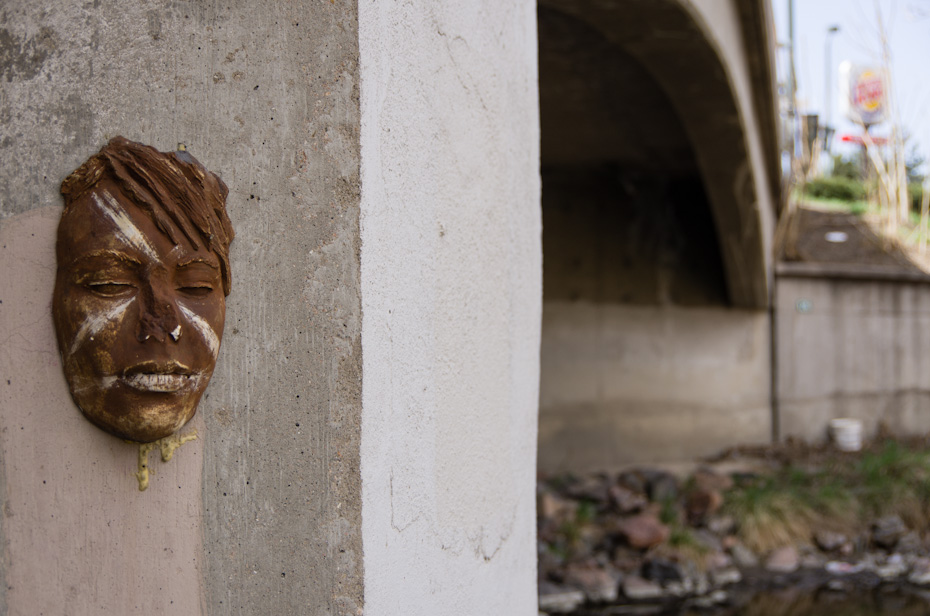 The Face of a Bridge Pillar